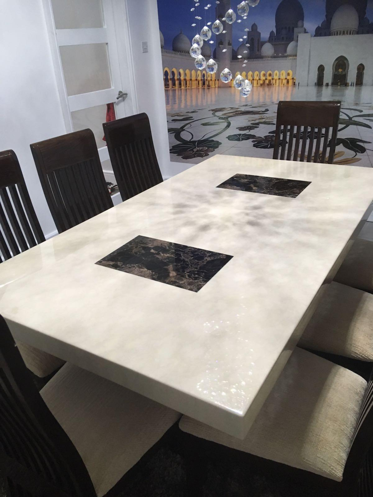 Marble DFS dining table Brand New  in BL9 Bolton for £9.9 for ...