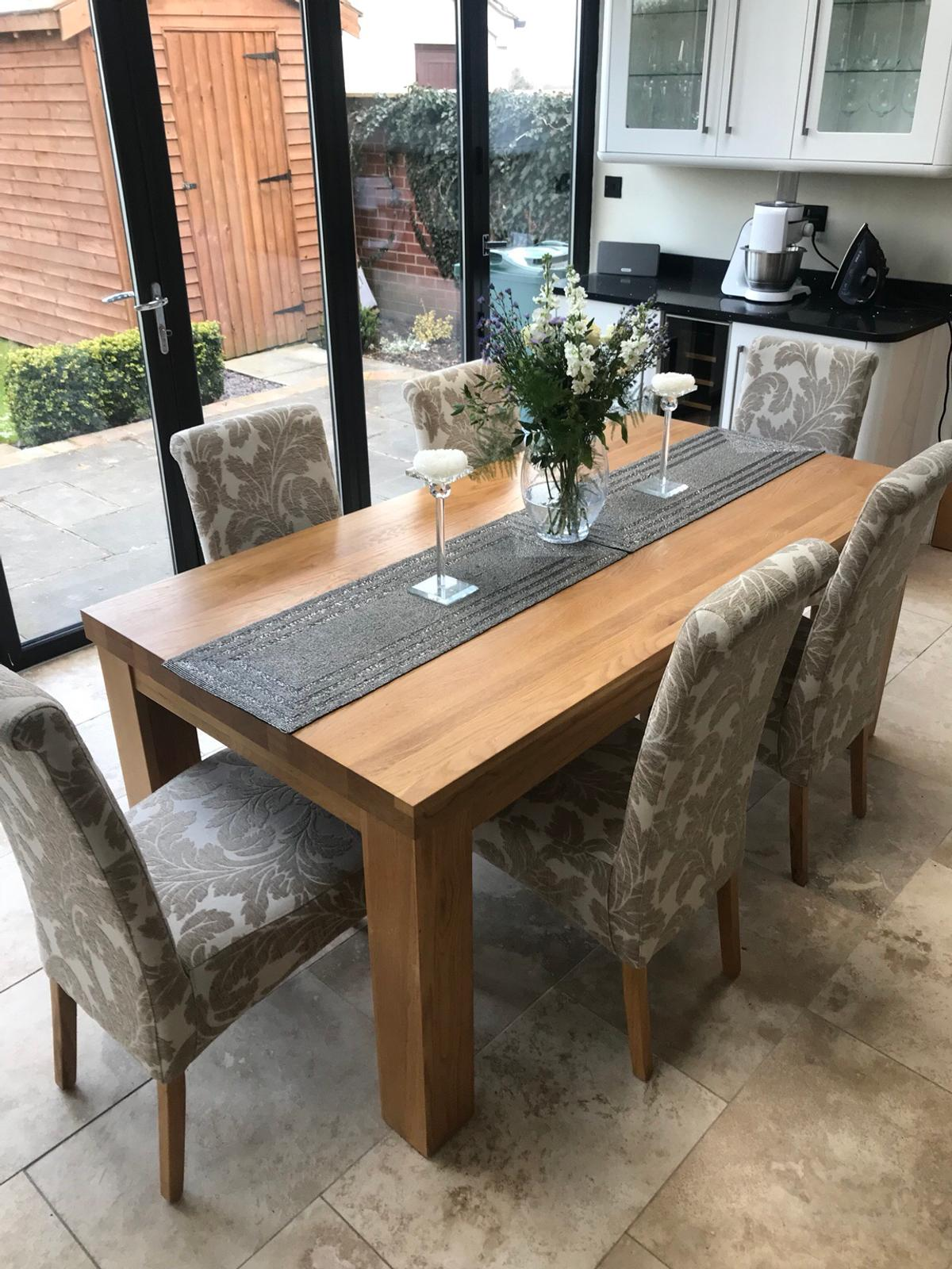 9 Dining chairs only   oak furniture land in Tarvin für £ 9,9 ...