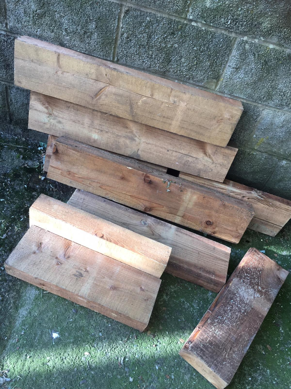 Railway sleepers ideal for flower beds in Newcastle under Lyme for ...