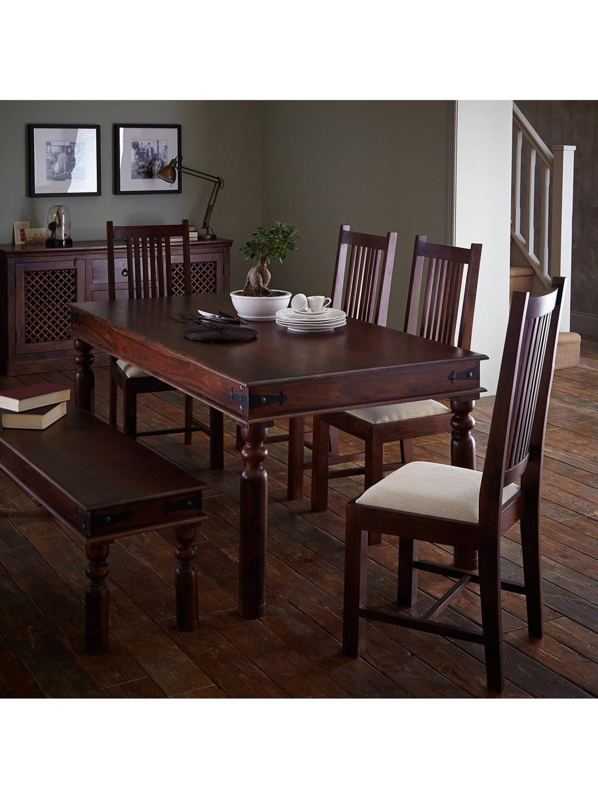 John Lewis Solid Wood dining table + 9 chairs in GU9 Guildford für ...