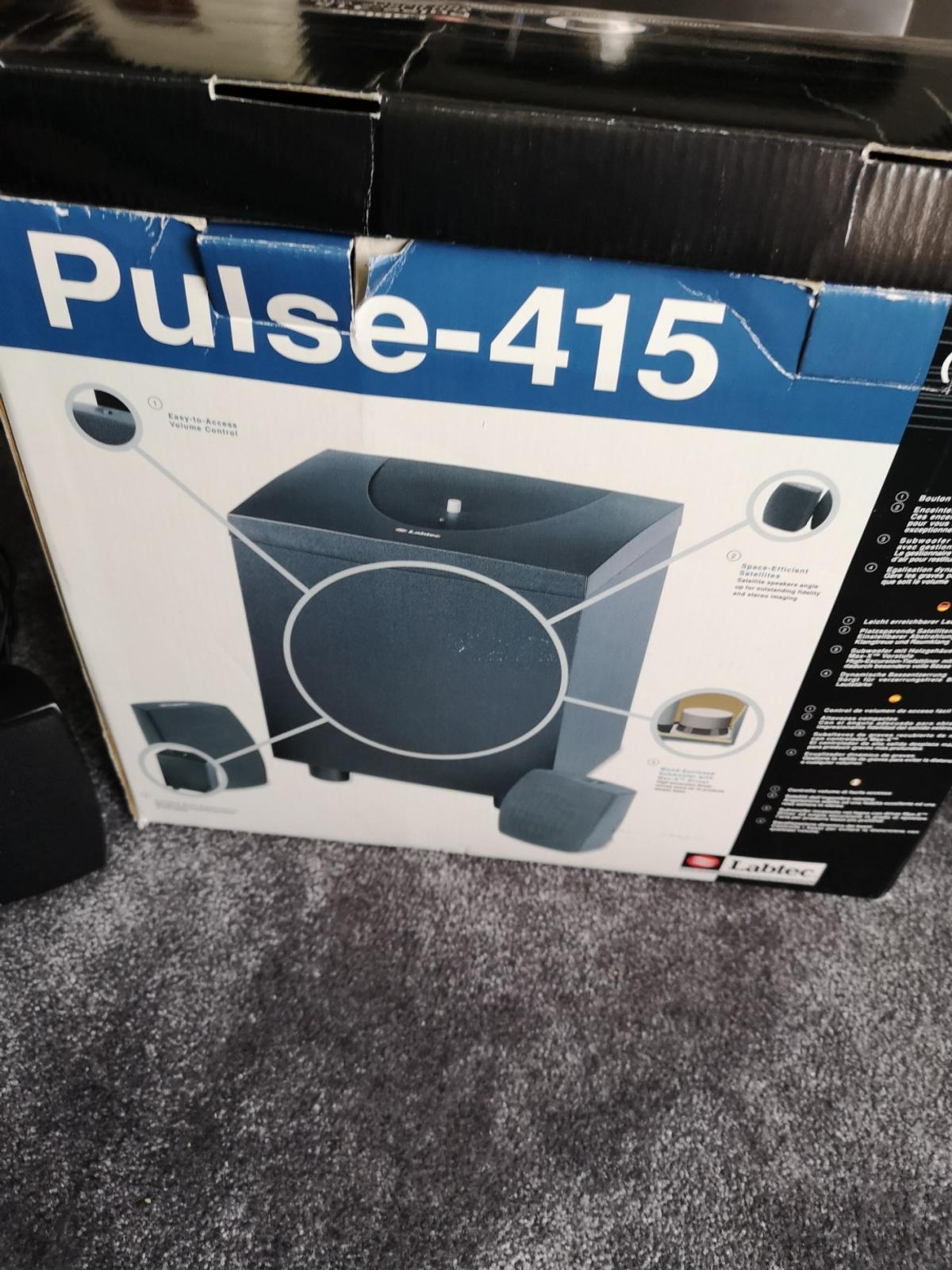 labtec speakers and sub woofer pulse 20 in WA20 Widnes für £ 20,20 ...
