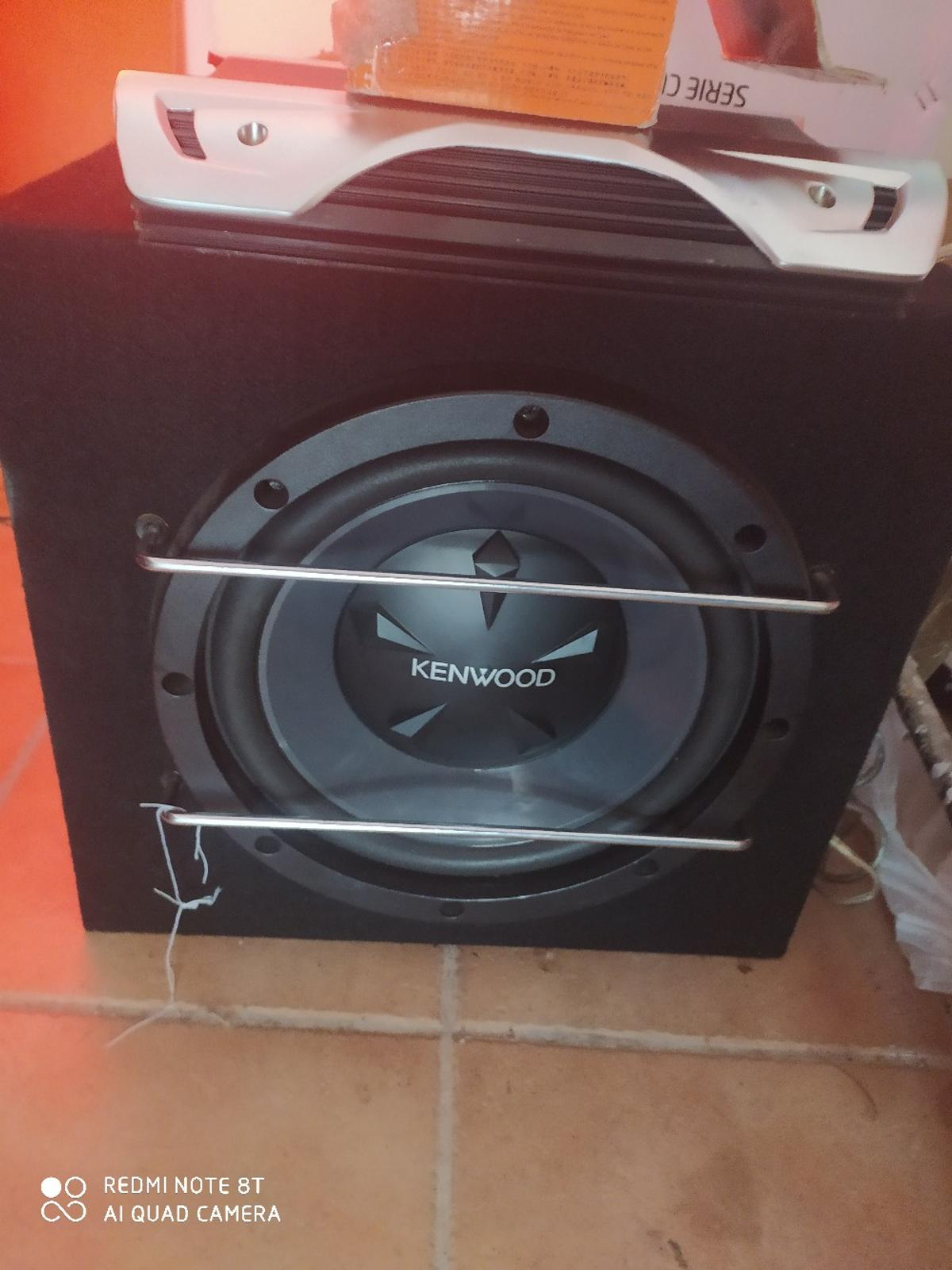 Subwoofer, stereo Kenwood e amplificatore in 01037 Ronciglione for €300.00  for sale