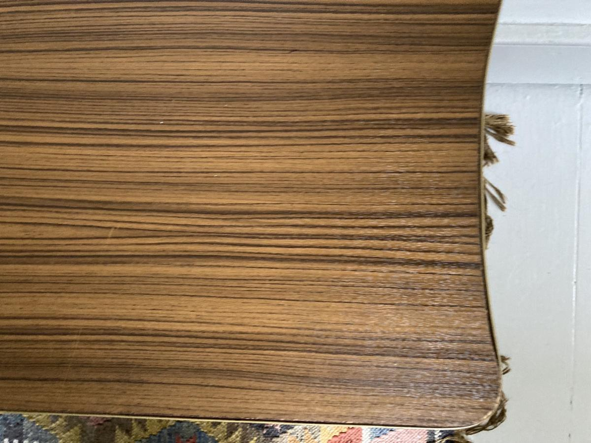 Mid century 70s style sideboard/coffee table  Is quite damaged as pictured