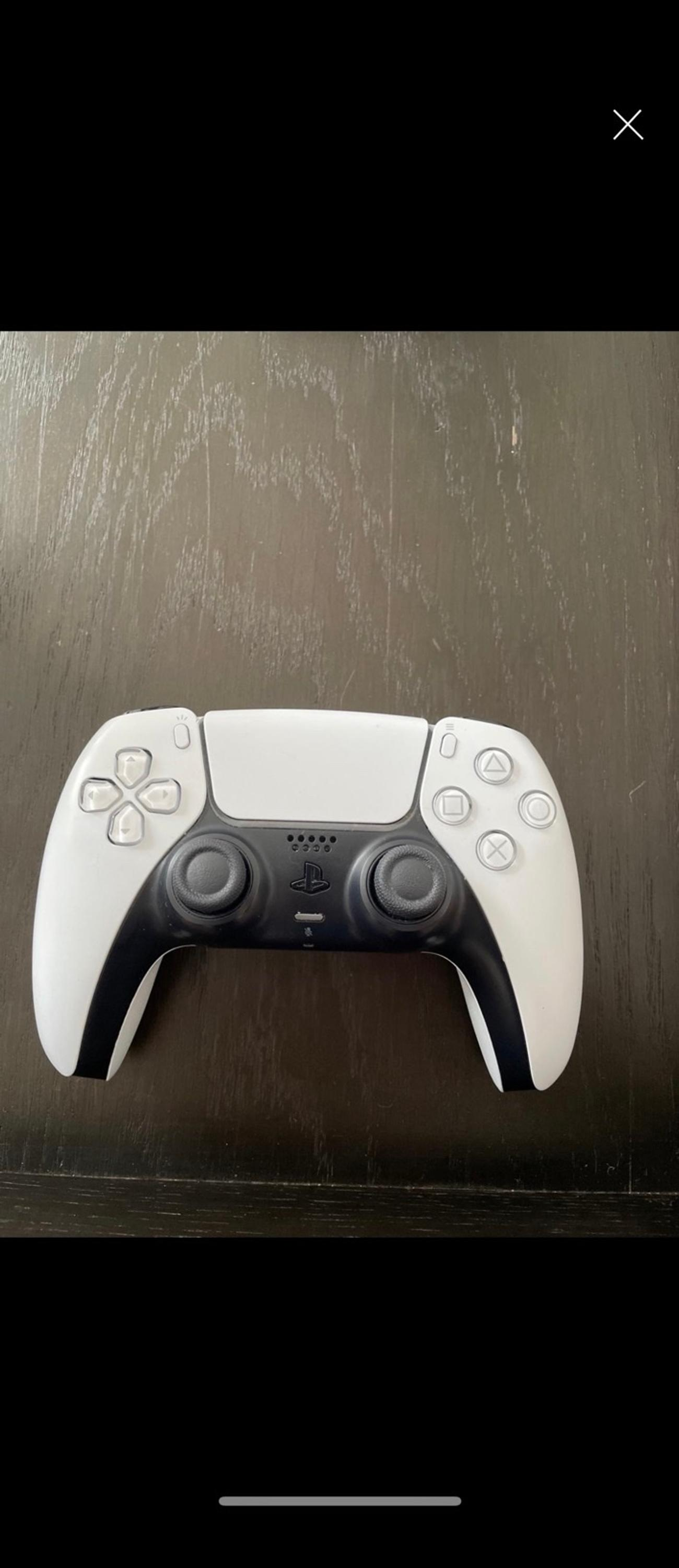 Selling a PS5 controller. Only problem with it is the headphone jack doesn't pick up headset microphones but the controller works fine. I have bought another one since. Would be perfect as a spare if you don't need a mic.