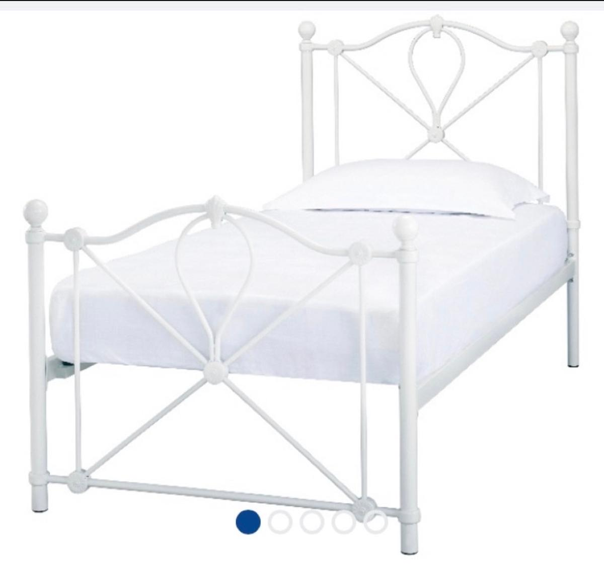 Shabby chic 3ft single bed frame Brand new boxed Free delivery within 10 miles  Mattress can be added for extra